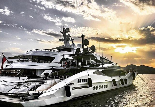 big superyacht