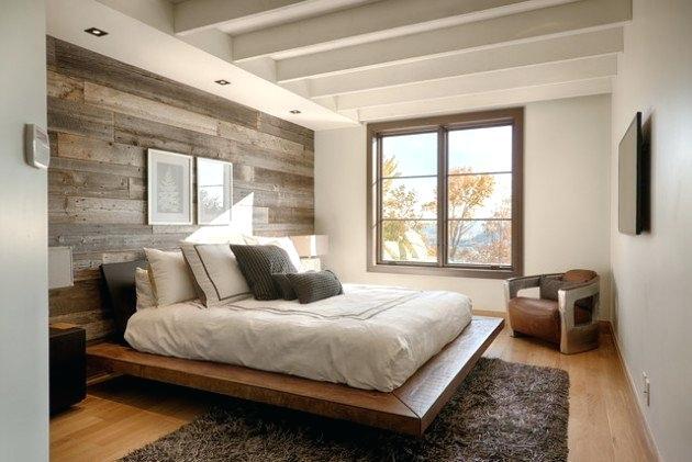 wood headboard.