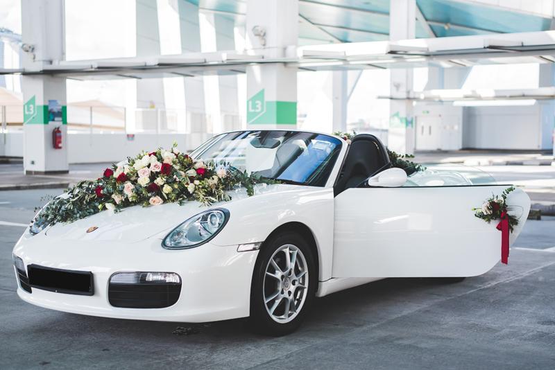 bridal car rental